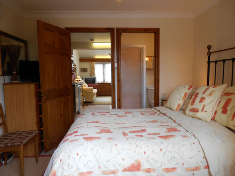 St Crispins double bedroom